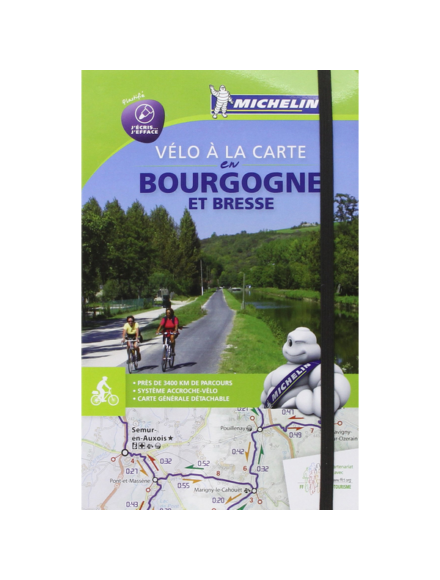 Cartographia  - Burgundia (Bourgogne) kerékpáros térkép - 1151 Michelin