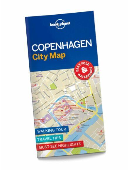 Cartographia  - Koppenhága laminált térkép