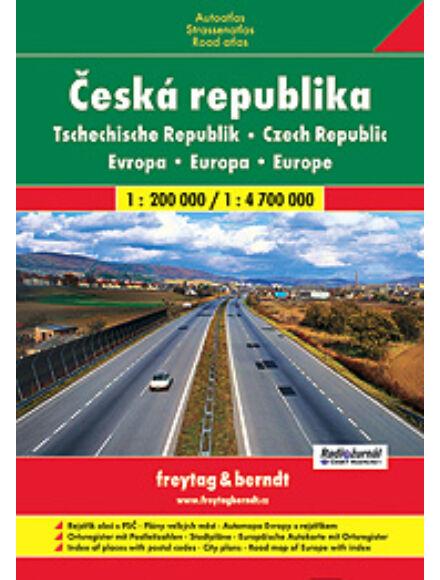 Csehország atlasz