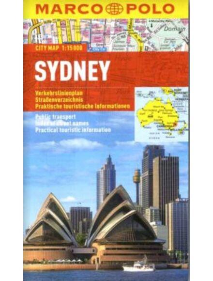 Sydney várostérkép