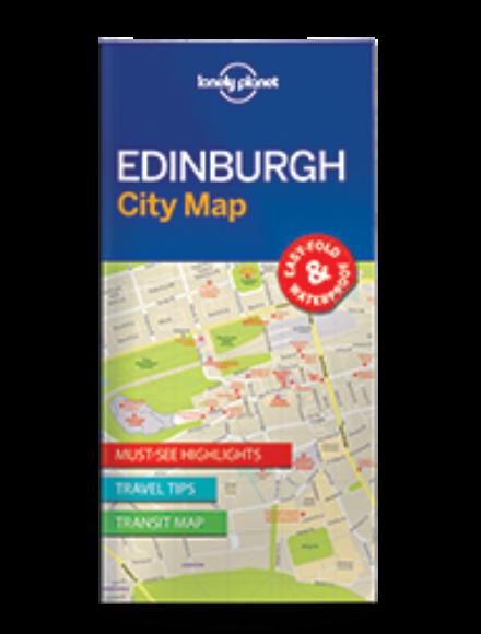 Cartographia  - Edinburgh laminált térkép