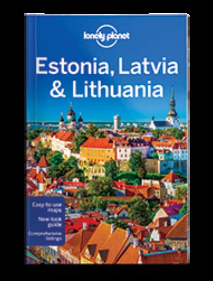 Cartographia  - Észtország, Lettország és Litvánia útikönyv (angol)