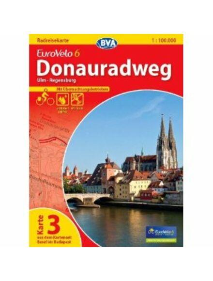 Duna menti kerékpárút térkép Eurovelo 6 - 7/3.