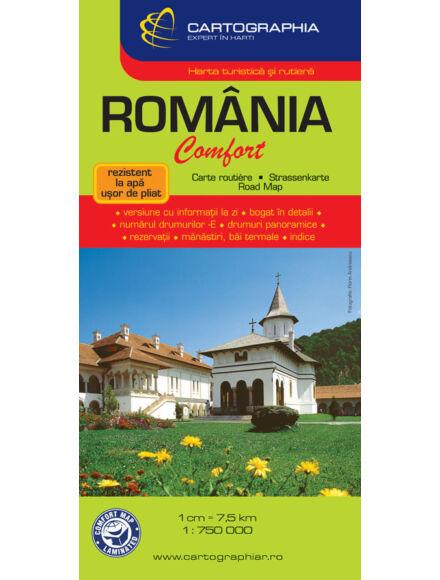 Cartographia  - Románia Laminált térkép