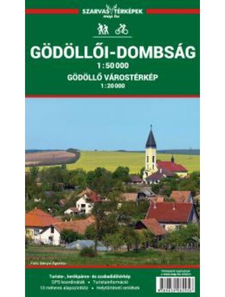 Gödöllői-dombság turistatérkép (+Ország közepe turistaút 1:100.000 )