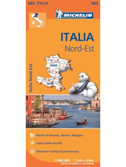Cartographia  - Olaszország-Észak-Kelet résztérkép (562)