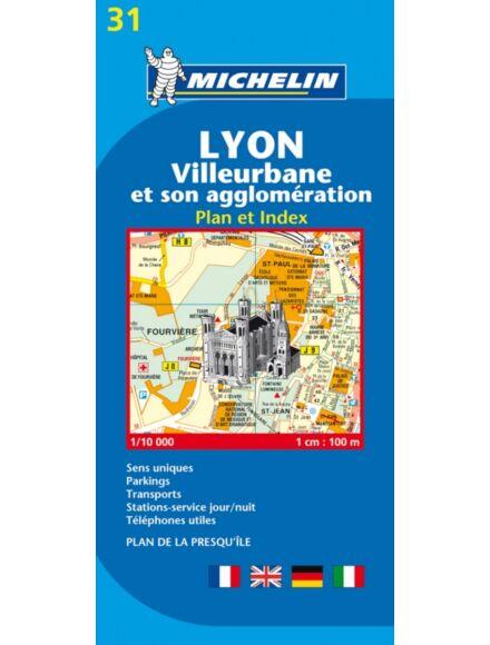 Cartographia  - Lyon várostérképe (31)