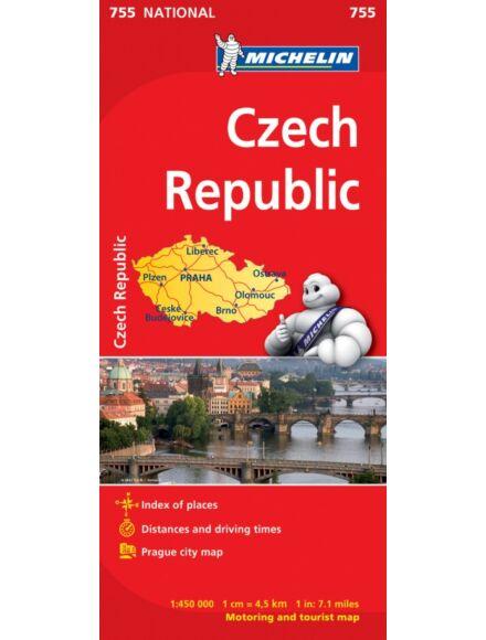 Cartographia  - Cseh Köztársaság térkép (755)