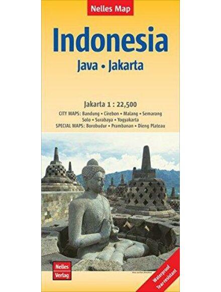 Cartographia  - Indonézia: Jáva, Jakarta térkép
