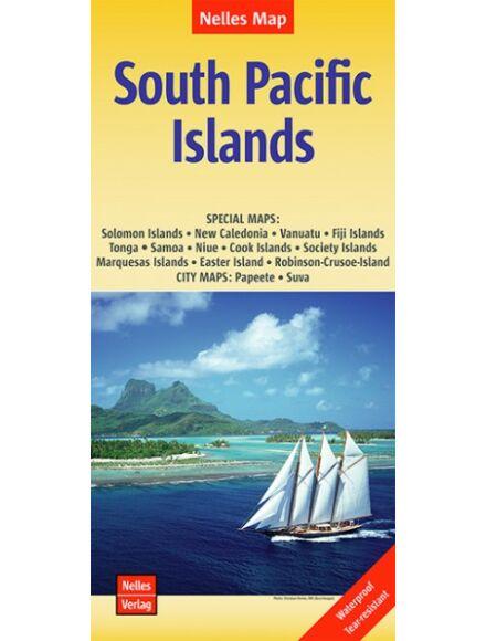 Cartographia  - Dél-Csendes-óceáni szigetek térkép
