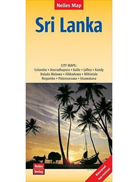 Srí Lanka térkép