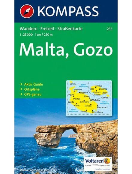 Cartographia  - K 235 Malta, Gozo