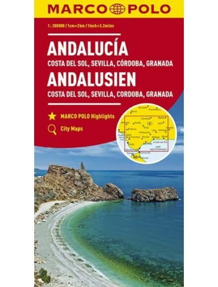 Cartographia  - Andalúzia, Costa del Sol térkép