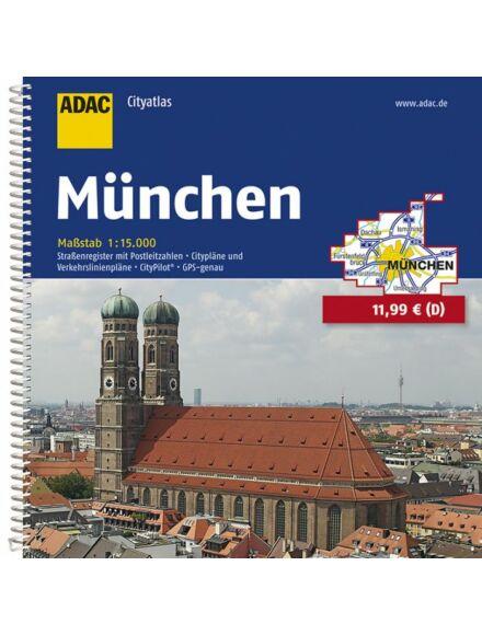 Cartographia  - München városatlasz (CityAtlas)