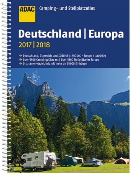 Cartographia  - Németország és Európa Kempingatlasz 2019/20