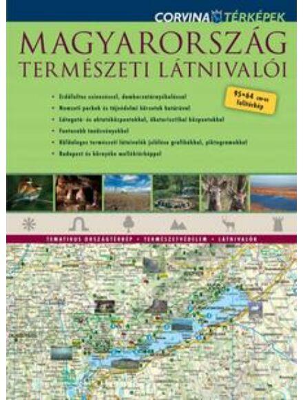 Magyarország természeti látnivalói térkép
