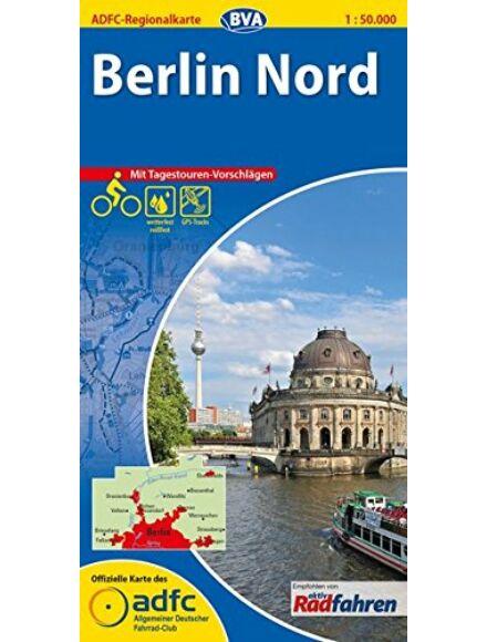 ADFC kerékpáros régiótérkép - Berlin Észak