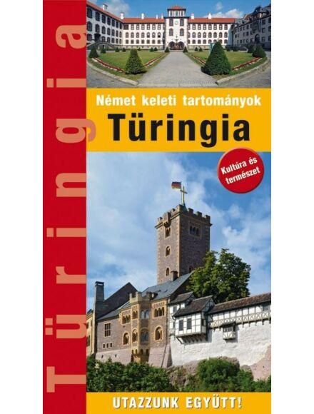 Cartographia  - Türingia útikönyv - Német keleti tartományok