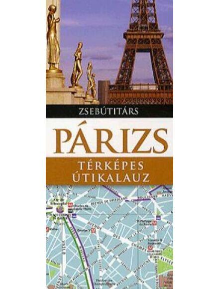 Cartographia  - Párizs útikönyv (Zsebútitárs)