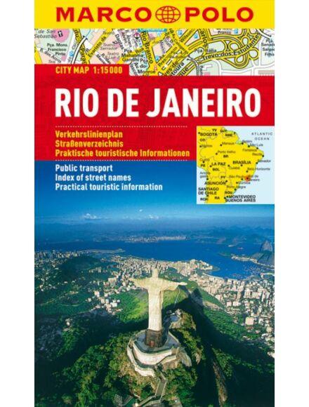 Rio de Janeiro várostérkép