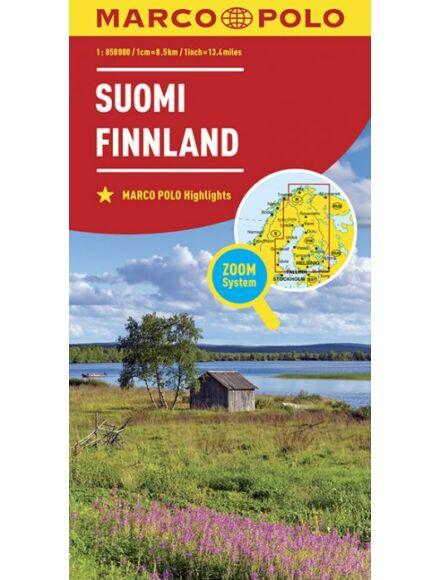 Cartographia  - Finnország térkép (Marco Polo)