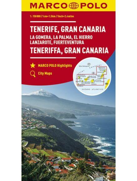 Cartographia  - Tenerife, Grand Canaria térkép