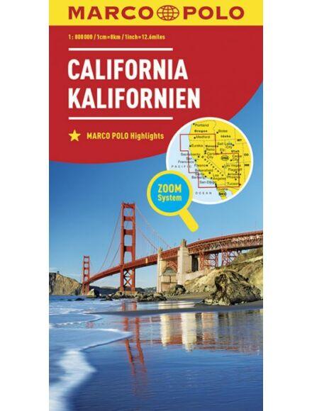 Kalifornia térkép