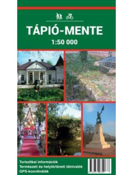 Tápió-mente turistatérkép
