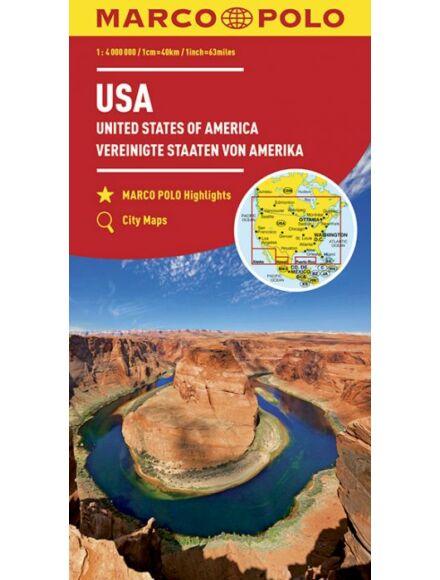 Cartographia  - USA térkép
