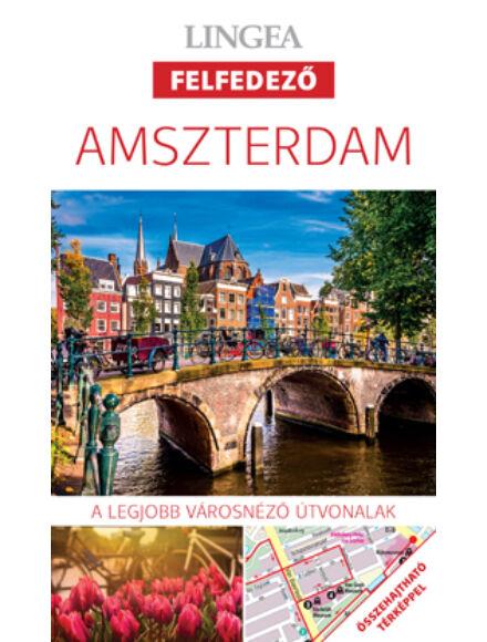 Amszterdam felfedező útikönyv térképpel