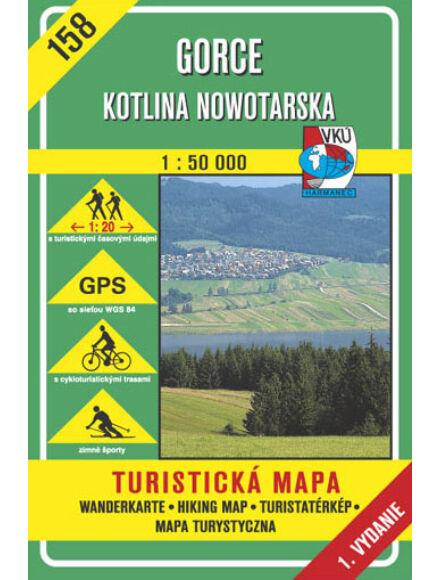 Cartographia  - HM158 Gorce tutristatérkép