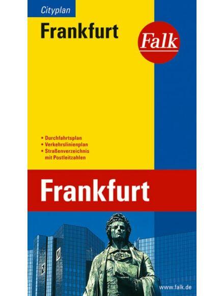 Cartographia  - Frankfurt zseb várostérkép (Cityplan)
