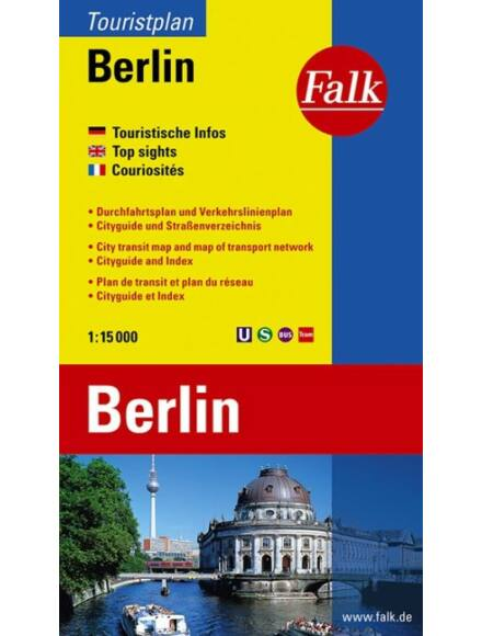 Berlin turista várostérkép (Touristplan)