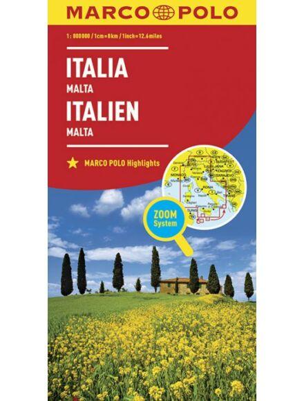 Cartographia  - Olaszország térkép (Marco Polo)