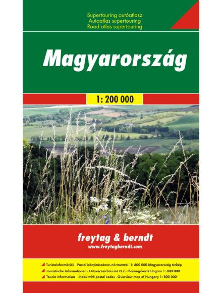 Cartographia  - Magyarország autóatlasz
