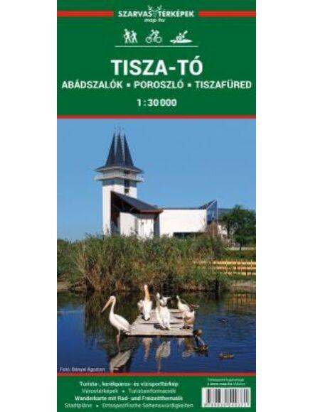 Tisza-tó turistatérkép