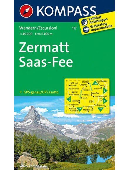 Cartographia  - Zermatt - Saas Fee turistatérkép