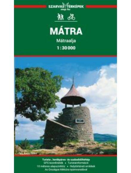 Mátra, Mátraalja turistatérkép