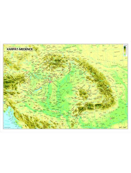 Cartographia  - Kárpát-medence falitérkép