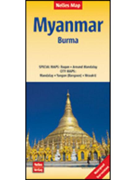 Myanmar (Burma) térkép