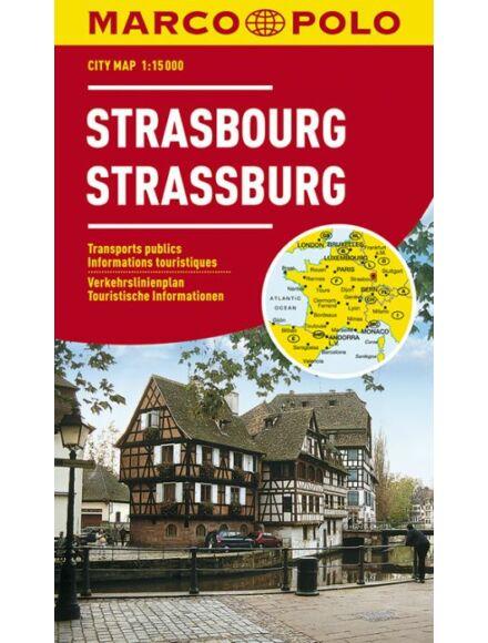 Strassburg várostérkép