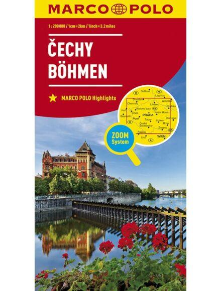 Cartographia  - Csehország - Bohémia (Böhmen) térkép