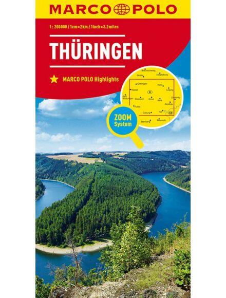 Cartographia  - Németország résztkp. - 7. Türingia