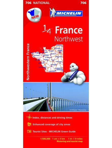 Cartographia  - Franciaország - Észak-Nyugat térkép (706)