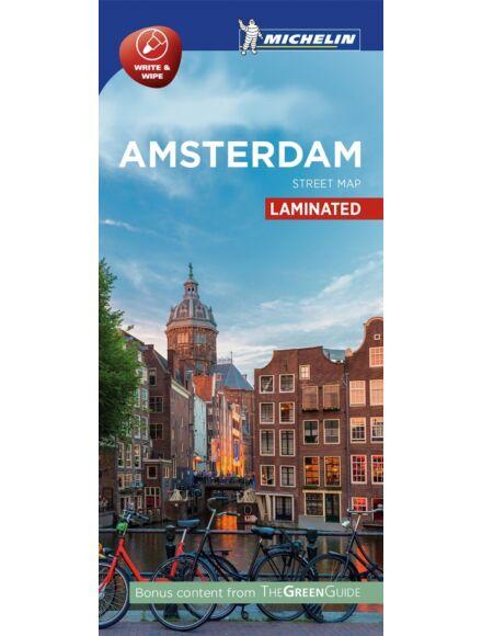 Amszterdam várostérkép (laminált)