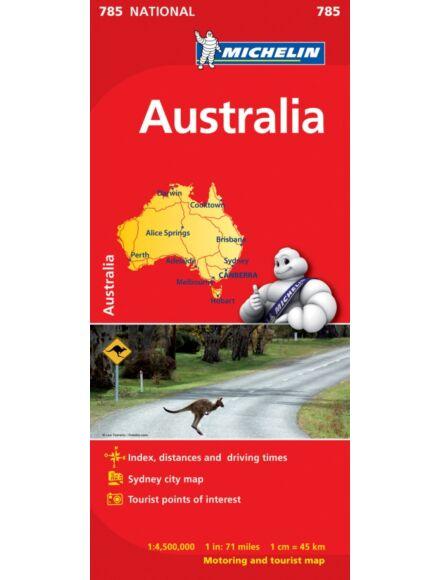 Ausztrália térkép (785)
