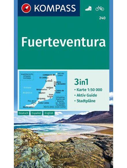 Cartographia  - K 240 Fuerteventura turistatérkép