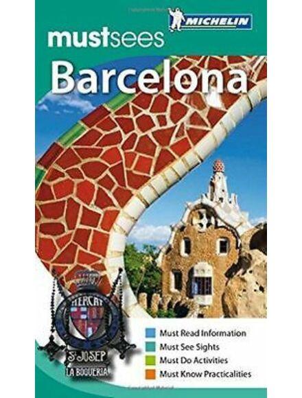 Barcelona útikönyv (angol)