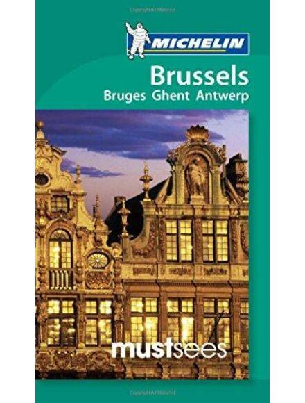 Brüsszel, Genf, Antwerpen és Bruges útikönyv (angol)