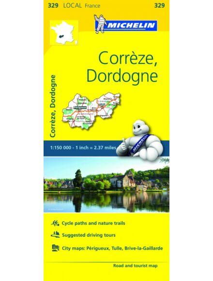 Cartographia  - Franciaország résztérkép - Correze / Dordogne 0329